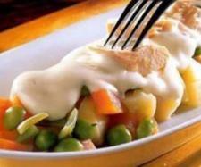 Receta de ensalada rusa - receta de la categoría V / #categoría #Ensalada #receta #rusa Ensalada Rusa Recipe, Tapas, Mashed Potatoes, Eggs, Chicken, Meat, Breakfast, Ethnic Recipes, Empanada