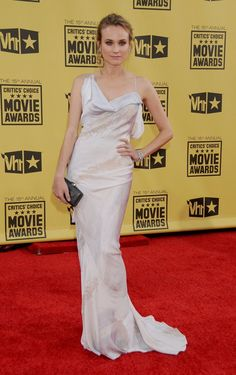 Pin for Later: The Best Looks From the Critics' Choice Awards —Ever Diane Kruger The style star kept things sleek in a silk gown in 2010.