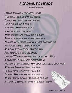 a servant's heart - Google Search