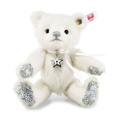 Stella Teddy bear, white