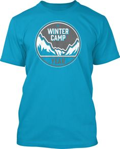 Glaciers Glorify God! Church Winter Camp Shirt: this is one of our more popular shirt designs for winter.  Let us know how you would like to customize it for your youth group!  Church Winter Camp Shirt Design #831