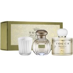 New at #Sephora: Tocca Beauty Florence Spa Set #fragrance #perfume #giftsets
