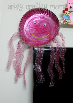 Paper plate octopus...