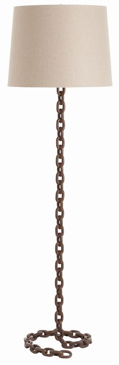 ARTERIORS Home Chain Link Floor Lamp | AllModern