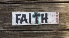 Hey, I found this really awesome Etsy listing at https://www.etsy.com/listing/205709298/faith-wood-sign