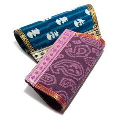 Indian Clutch Bag, made in batik cotton, via Global Goods Partners ($24)