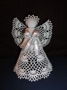 Christmas Toys, Christmas Knitting, Christmas Angels, Christmas Projects, Christmas Bulbs, Crochet Angel Pattern, Crochet Earrings Pattern, Crochet Angels, Crochet Patterns