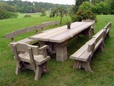 Rustic Garden Furniture Have Charm And A Natural Radiance – Fresh ...