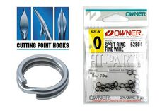 Owner Fine Split Rings   Split Rings by Owner   Import Tackle - Import Tackle   Online Fishing Tackle Store