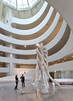 Installation View - John Chamberlain: Choices by Solomon R. Guggenheim Museum