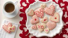 Homemade Valentine cake