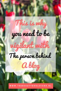 Yes, there is also a person behind a blog. You need to be vigilant with that person. You can't just say anything you want. You definitely have to check out this blogging tip, so you won't make this fault again.