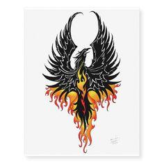 Pretty Tattoos, Cute Tattoos, Flower Tattoos, Awesome Tattoos, Tatoos, Tribal Tattoos, Brown Tattoos, Phoenix Bird Tattoos, Phoenix Tattoo Design