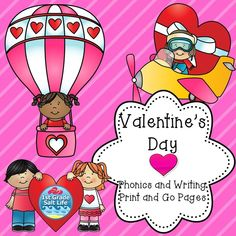 ELA and Math Valentines themed activities