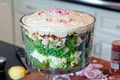 8 Layer Salad- a family favorite