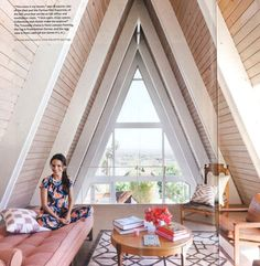 I want an A-frame in the Rockies....