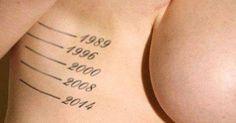 Übrigens, ich habe dieselben Markierungen am Oberschenkel... Das könnte Dir auch gefallen:Toilettenpapier für Menschen mit ArachnophobieWas zur Barbie zu viel istPenis-LippenstifteWenn homosexuelle Männer zum ersten Mal eine Vagina anfassenStar Wars BB-8 High HeelsPerioden... #crazy #frauen #fun