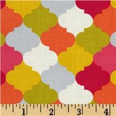 Stella Bukhara Fez Multi - Discount Designer Fabric - Fabric.com