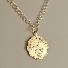 Tanzania Coin Necklace