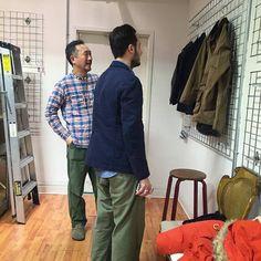 """●鈴木大器着 Engineered Garments Banded Collar Shirt / S /【Buyee】 """"Buyee"""" 日本の通販商品・オークションの代理入札・代理購入"""