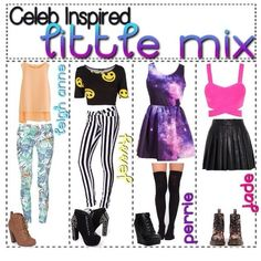 LITTLE MIX INSPIRED OUTFITS!!!!! LOVE!!!!!