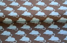Stenzo 2610-3309 Tricot Bio-Cotton Mouse grijs-taupe/lichtblauw