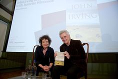 Northern Soul's Kevin Bourke sees Jeanette Winterson in conversation with John Irving at Manchester's Centre for New Writing.
