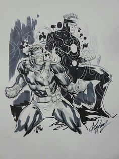 Cyclops and His Brother Havoc