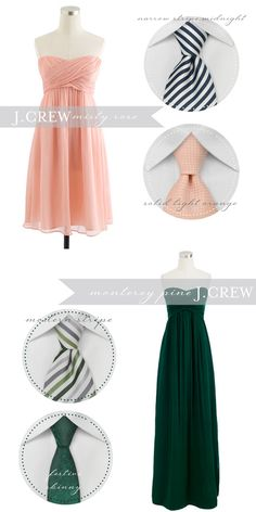 Bows-N-Ties Giveaway-- helps match ties and bow ties to bridesmaid dresses