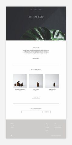 Calisto Park   branding & web design by Kindred Studio