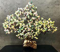 #handmade #mojatvorba #wiretree #beadedtree #treeoflife #wirebonsai