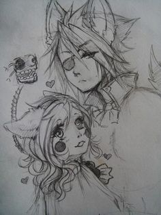 -Mangle and Foxy- by ChokoPogo <<< such cool fanart, wish I could draw like that