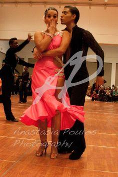 Harvard Invitational 2014 ballroom competition. #latin
