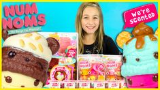 NUM NOMS GO-GO CAFE NEW TOYS by LALALOOPSY! MYSTERY CUP SURPRISE BOXES I...