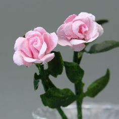 56 best tutorials miniature flowers roses images on pinterest in make miniature plants and flowers for dolls house and model scenes mightylinksfo