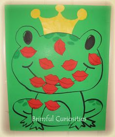 Plant a kiss on the frog game