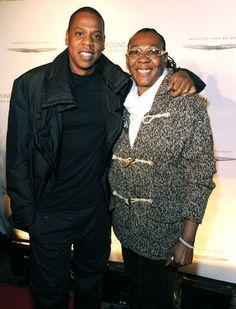 Jay Z & Mom Gloria