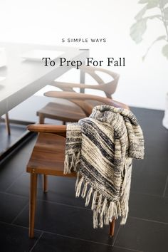 with the end of summer comes the beginning of my favorite time of year — autumn. i tend to use each season as an excuse to start fresh, changing things up in my closet, in my pantry, and around my home. click through for a few of my favorite ways to prepare for fall.