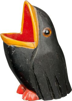 Ptáče – držák na párátka | Aukce obrazů, starožitností | Aukční dům Sýpka