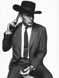 Gary Cooper photographed by Bert Stern, 1960.
