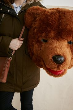 We're bear-y much in love with this fall's Camp Fossil products, especially the Emma crossbody.