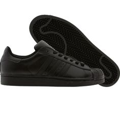 Adidas Superstar II 2 (black1) G14748 - $69.99 Style Masculin, Man Style, Adidas Superstar, Shoe Game, Adidas Shoes, Me Too Shoes, Adidas Originals, All Black Sneakers, Guy