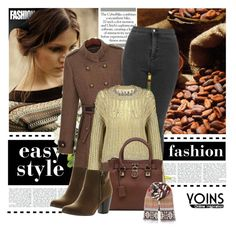 """""""Yoins9"""" by melodibrown ❤ liked on Polyvore featuring mode et Reneeze"""