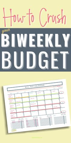 Are you struggling with how to budget your bi weekly paychecks and pay monthly bills? Learn how to create a monthly budget that works with your every other week paychecks. Monthly Budget   Budgeting Money   Budgeting Finances   Managing your Money
