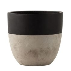 general-eclectic-homeware-vase-dipped-planter-small-black