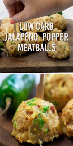 low carb meatballs taste like a jalapeno popper! Loaded with bacon, cream cheese, and jalapeno!These low carb meatballs taste like a jalapeno popper! Loaded with bacon, cream cheese, and jalapeno! Ketogenic Recipes, Low Carb Recipes, Diet Recipes, Chicken Recipes, Cooking Recipes, Healthy Recipes, Ketogenic Diet, Keto Chicken, Shake Recipes