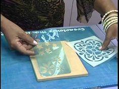 Revistero de Ideas con Mariela Acosta. Técnica Falso Metal 1/2 - YouTube