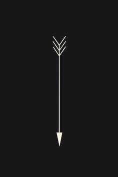 Arrow Art Print. Love this super simple design