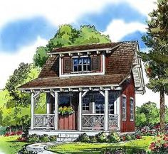Small Cottage House Plans Small In Size Big On