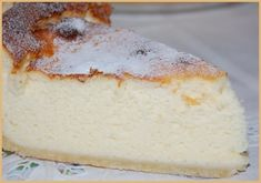 Tarte au fromage blanc onctueuse